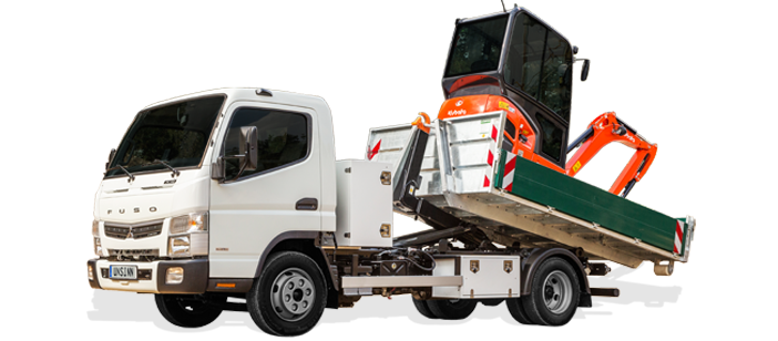 Fuso Canter Roll-off tipper