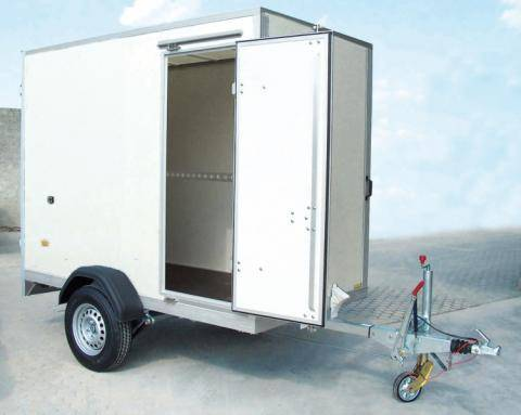 Side door with espagnolette 1300x600 mm by 1-axle / 1300x500 mm by 2-axle