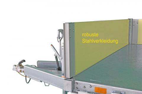 StAlu Bordwand 350 mm 2760x1500 mm