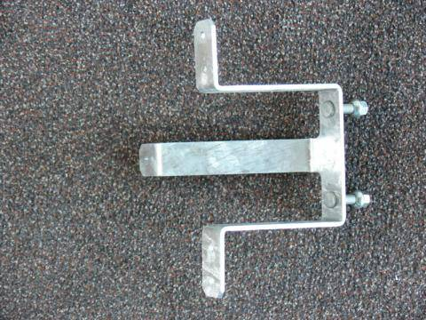 Spare wheel holder for 5-hole rim, loose
