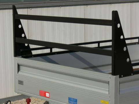 H-frame for end wall, width 1400 mm with 2 cross braces