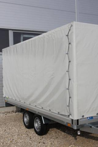 Tarpaulin and frame, load height 1,800mm, without mounting