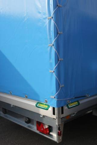 Tarpaulin and frame, load height 2,200mm, without mounting