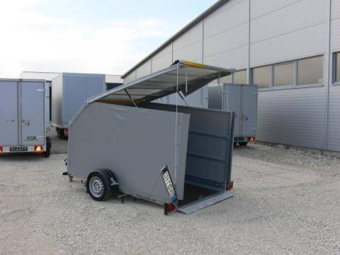 High tarpaulin loose without mounting, load height 1,700 mm, tarpaulin spring lift support