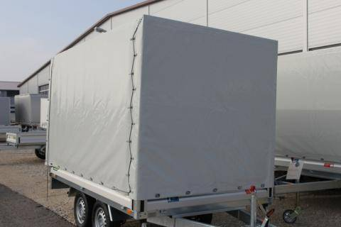 Tarpaulin and frame, load height 1,600mm, without mounting