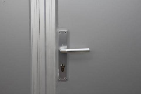 Integral access door