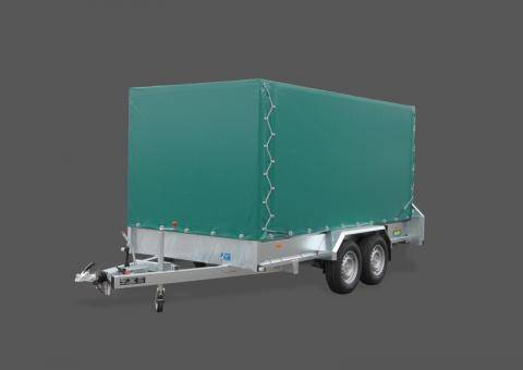 Tarpaulin and frame, load height 1,700mm, without mounting