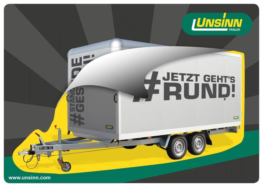 rounded edges cargo trailers